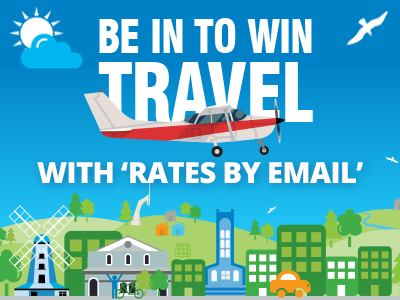 rates by email promo