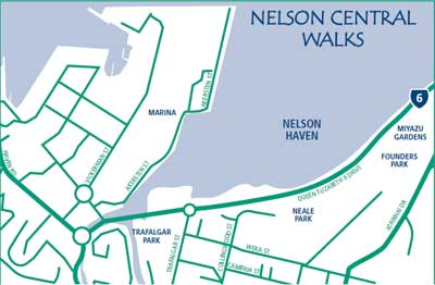 Nelson Central Walks Nelson City Council