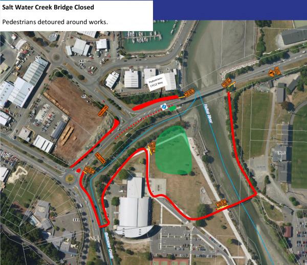 Saltwater Creek Bridge Replacement - Nelson City Council